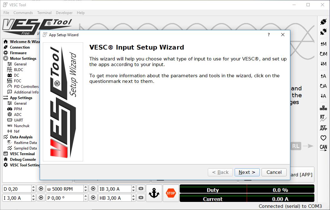VESC - Controller configuration - esk8 Bible